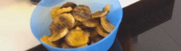 Zelf gezonde bananenchips maken